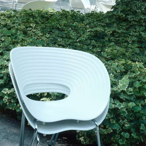 Tom Vac Outdoor Stapelsessel Weiss A053514 002 01 Im Freien Design Shop Designklassiker