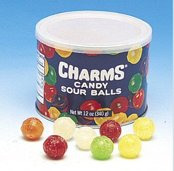 Charms Candy Sour Balls! My uncle kept these everywhere, he even kept a canister in his car.❤ My favorite were the white ones!!