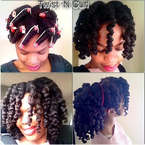 Outstanding Twists Curls And Hair On Pinterest Short Hairstyles Gunalazisus