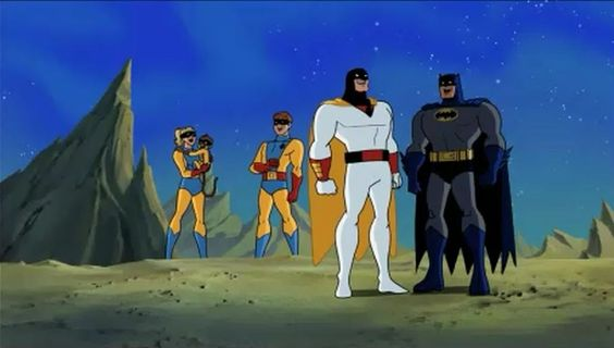Batman & Creature King ~ Space Ghost ~ The Creature King