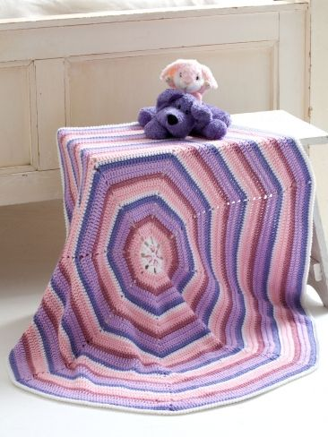 Octagon Baby Afghan Crochet Pattern : Pinterest The world s catalog of ideas