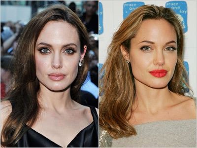 Pin By Jessica Russo On Celebrities Natural Hair Color Natural Hair Styles Angelina Jolie Hair