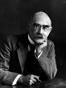 """Rudyard Kipling-britischer Schriftsteller (""""Das Dschungelbuch"""")"""
