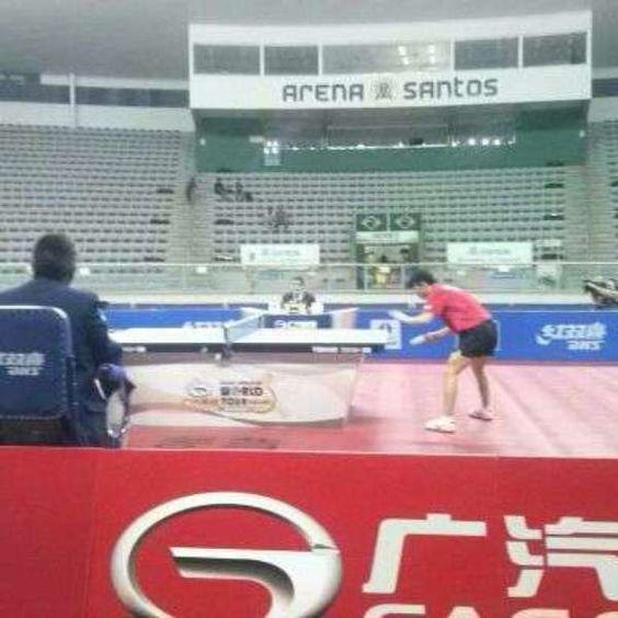 vc repórter: China domina Aberto do Brasil de Tênis de Mesa