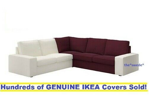 Ikea Kivik Corner Section Sectional Sofa Cover Slipcover Dansbo Red Lilac Sealed Ikea Sofa Ideas Of Ikea Sofa Sofa Ikea In 2020 Ikea Sofa Sofa Covers Ikea Kivik