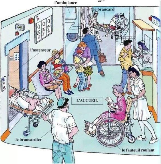dans un hospital