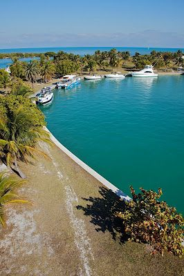 Boca Chita Key is the island north of the upper Florida Keys in Biscayne National Park, Miami-Dade County, Florida, USA. On the north-west part of the island is the Boca Chita Key Historic District containing historic structures such as the Boca Chita Lighthouse.