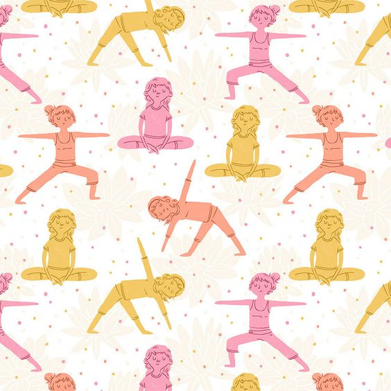 Daily Pattern - Yoga by Alyssa Nassner, via Flickr: Patterns Posters, Patterns Textiles, Precious Patterns, Inspiración Patterns, Design Patterns, Pattern Yoga, Patterns Textures