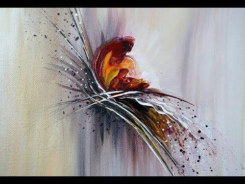 easy abstract painting for beginners 15min real time malen fur anfanger echtzeit v284 youtube blaue abstrakte malerei olgemalde modern acrylmalerei häuser abstrakt acryl kunst