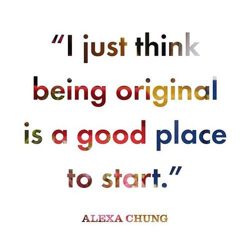 alexa chung http://quitwork.club #quote  #alexa chung  #good place:
