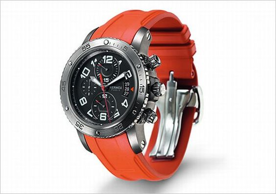 hermes clipper chronograph watch 0 Hermes' Clipper Collection