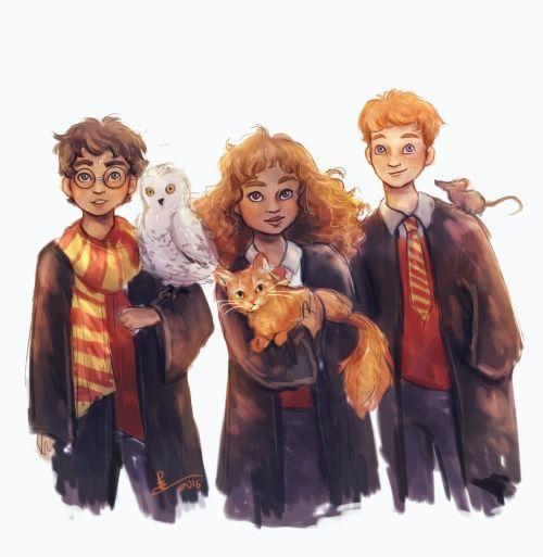 Fan Art Harry Potter Presentation Harry Potter Anime Harry Potter Figuren Zeichnung