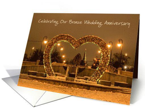 Celebrations Occasions 8th Wedding Anniversary Card Bronze Wife Celebrate Greeting Congratulations Home Furniture Diy Tohoku Morinagamilk Co Jp