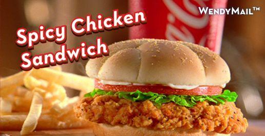 Copycat Recipes: Wendy's Spicy Chicken Sandwich!