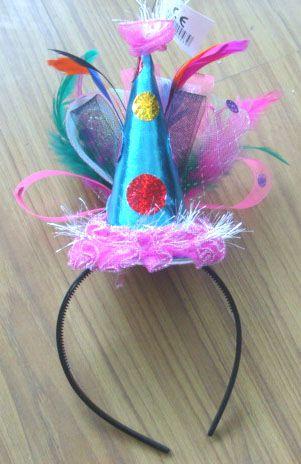 Birthday headband