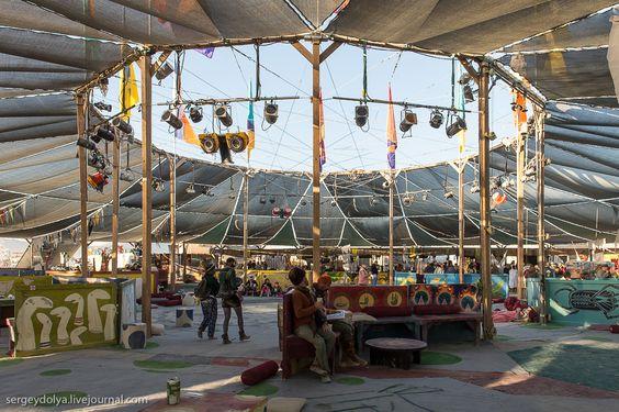 Burning Man 2013. Тематические лагеря фестиваля