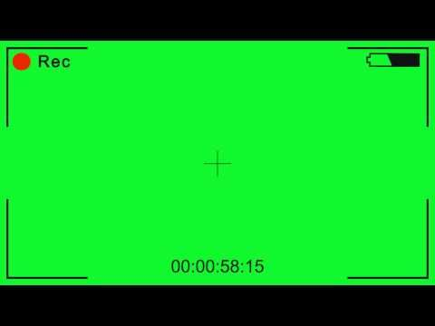 Video Camera Recording Green Screen Effect Youtube In 2020 Greenscreen Vintage Film Strip Youtube Logo