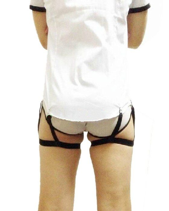 new hiding in dress invisible shirt stay shirt garter belt