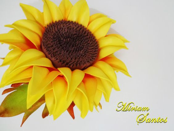 Adesivos De Parede Westwing ~ Flores de Mira Girassol de Eva sem Frisador Artesanato