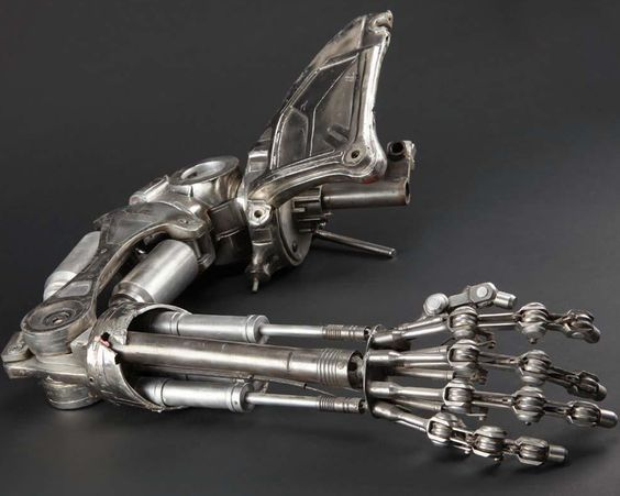 Who Says Prosthetic Hands Have To Look Like Human Hands? #super Hashtags: #MajesticVision #Android