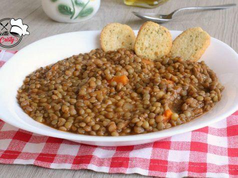 Zuppa Di Lenticchie Secche Ricetta Facile Ricette Zuppa Di Lenticchie Ricette Facili