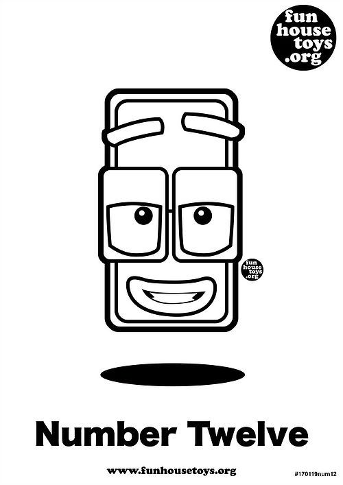 Fun House Toys Numberblocks Coloring Books Printable Coloring Pages Printable Coloring