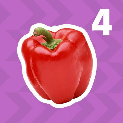 4 Foods to Boost Energy: Red Bell Pepper