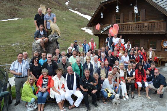 #Gruppenfoto #Cabrio #Treffen #Glocknerhof www.glocknerhof.at