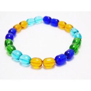 Ladies Multicolor Plastic Bracelet, beautiful lades bracelet, black and white bracelet