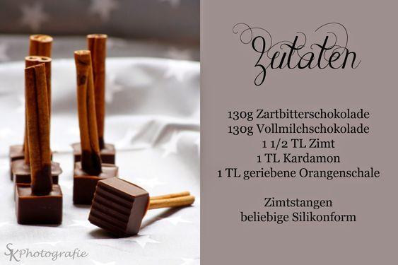 Alles und Anderes: Würzige Trinkschokolade mit Zimt und Kardamon
