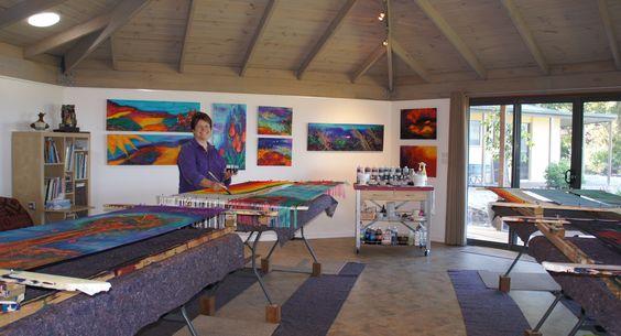 Chrysalis Art Studio, where silk magic happens!