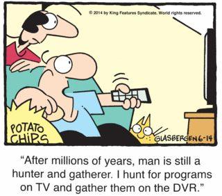 Better Half by Randy Glasbergen - June 14, 2014 | Comics | Comics Kingdom - Comic Strips, Editorial Cartoons, Sunday Funnies, Jokes