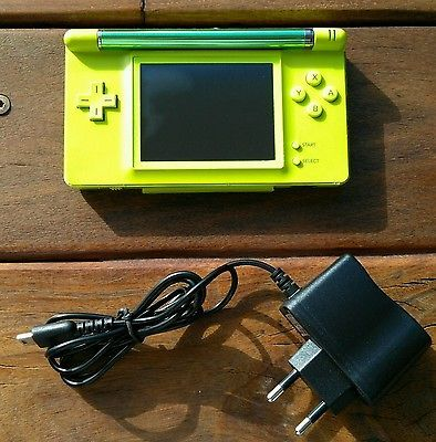 CONSOLE lime Nintendo GAME BOY MACRO FROM MOD A BASE DS Lite GBA advance NEODIDO