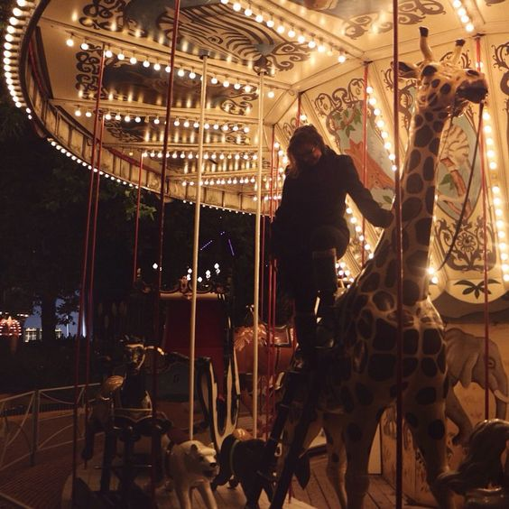 They say that life's a carousel spinning fast you've got to ride it well  #wherethemagichappens #derrickpadronphotgraphy
