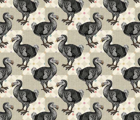Dodo Doodle fabric by fabgirl42 on Spoonflower - custom fabric