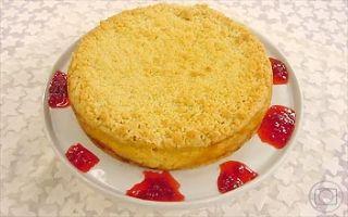 Cuca Cremosa | Tortas e bolos | Mais Você - Receitas Gshow