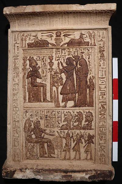 Gigantisch boek van de doden gevonden van 4 meter lang
