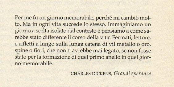 Charles Dickens, Grandi speranze.