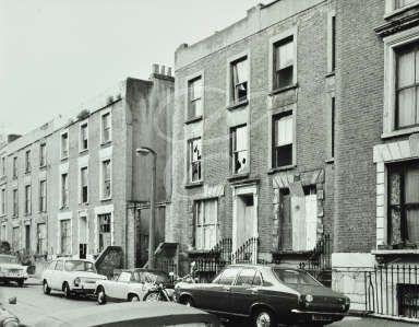 Hornsey Street: derelict property