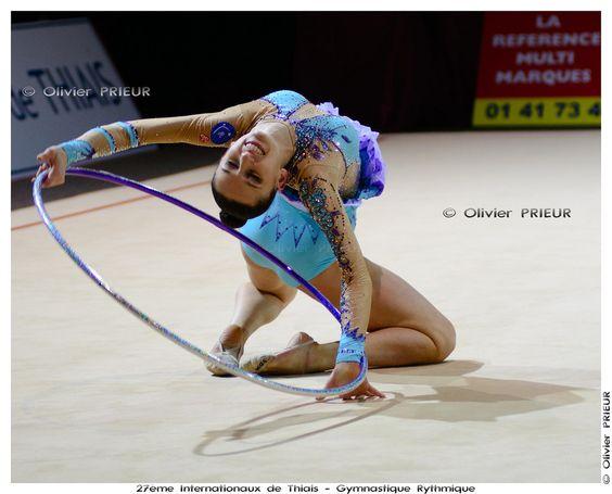 Lucille Chalopin (FRA) aux Internationaux Gymnastique Rythmique Thiais