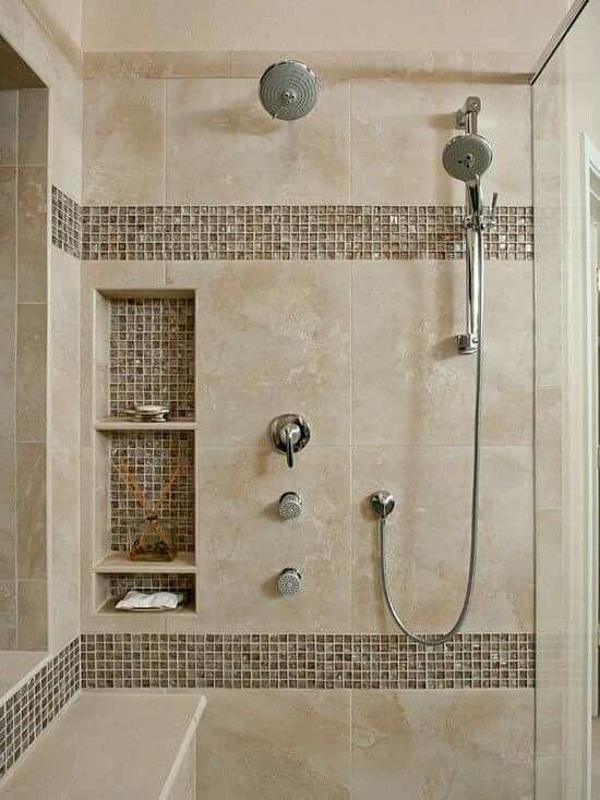 Regadera De Baño Moderna:Remodelación regadera espacio útil