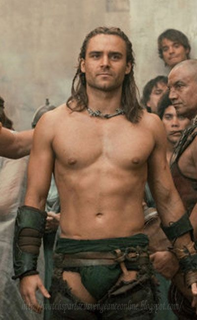 Gannicus. The reason I sit through all the blood and gore of Spartacus.