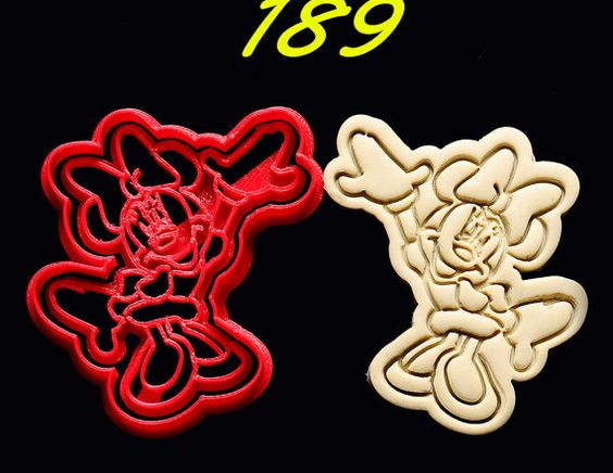 Minnie Mouse Cookie Cutter   minnie mouse birthday by Joshuaous