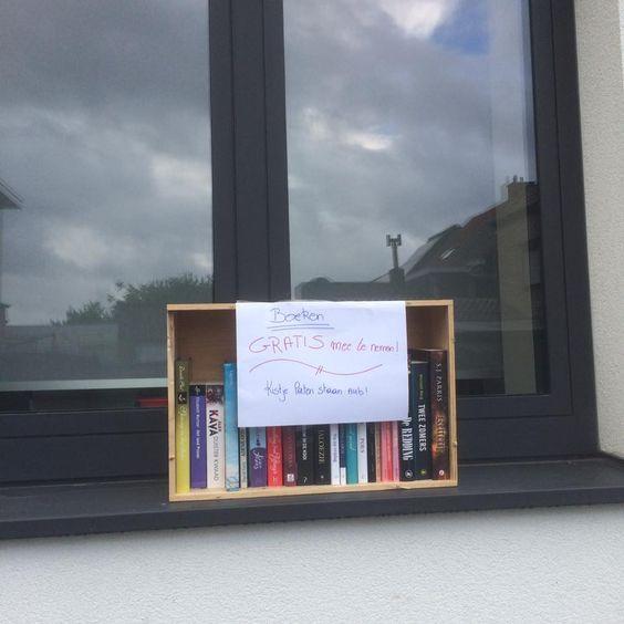 Boekenruilkistje Nieuwerkerken Aalst