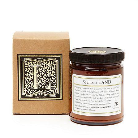 Land Candle Cedar Scent