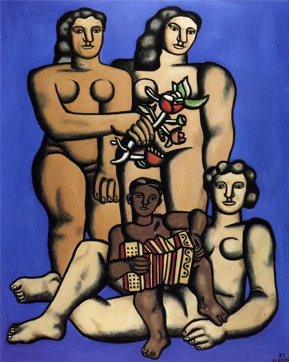Three sisters - Fernand Leger