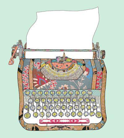 máquina de datilografia antiga desenho - Google Search: