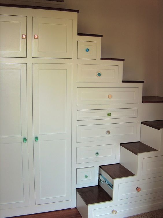 Tiny homes stairs and drawer pulls on pinterest - Stairs that are drawers ...