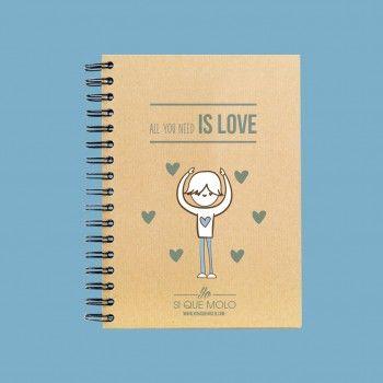 "Libreta ""All you need is love"""
