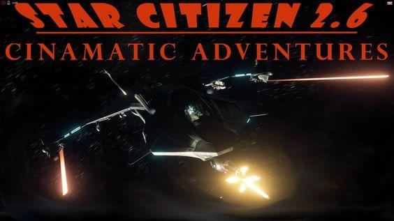 Star Citizen 2.6 New Camera Controls: Director Mode session